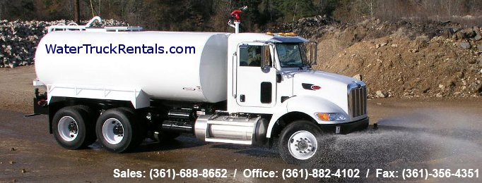 WaterTruckRentals.com - Texas Equipment Rental